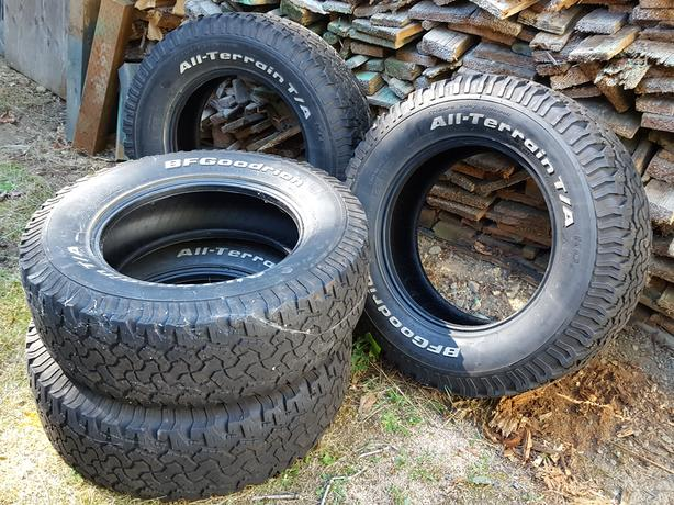 4 -   used BF Goodrich Tires