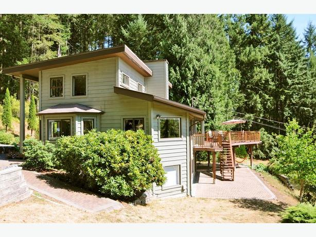 West Coast Home on Wooded 9.58 Acres