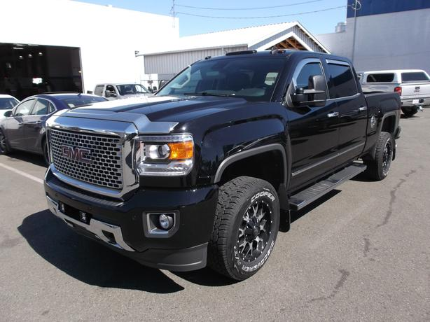 2015 gmc 3500 crew cab denali diesel for sale outside comox valley comox valley. Black Bedroom Furniture Sets. Home Design Ideas