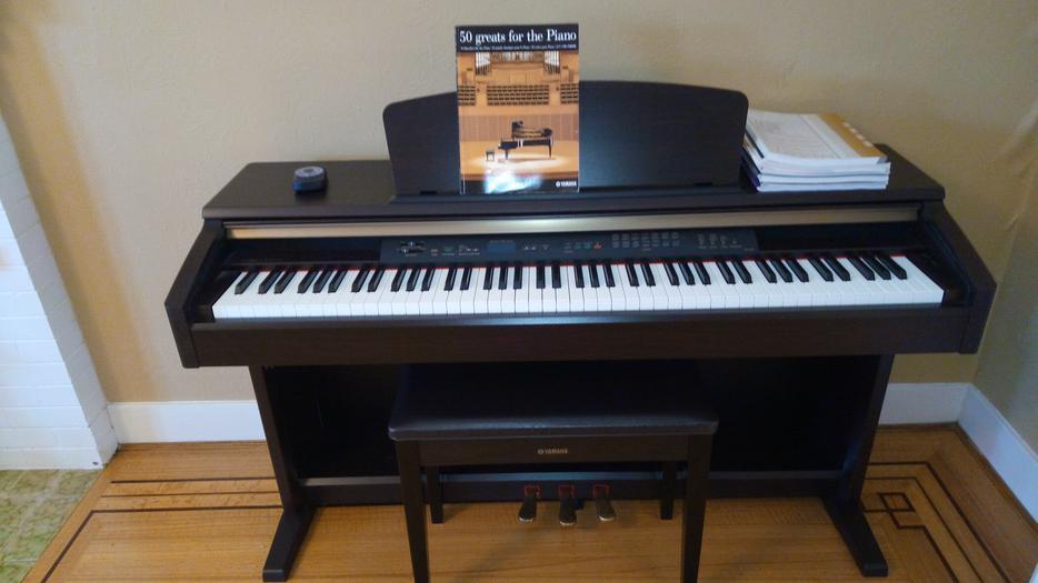 Yamaha clavinova clp 120 88 key digital piano vancouver for Yamaha piano store winnipeg