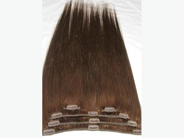 "22"" #4 Clip In Hair Extensions (Weave Quality Hair)"