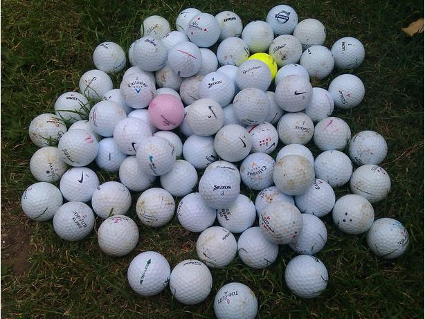 150 used balls, contains Titleist, Callaway, Nike, etc ..only 30$