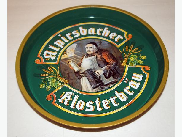 Beer Tray Alpirsbacher Klosterbräu 12 inch
