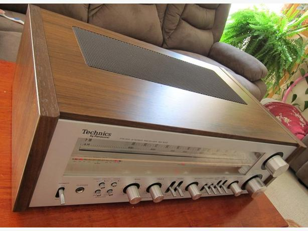 CLASSIC TECHNICS SA-500 BY PANASONIC STEREO RECEIVER *VERY NICE*