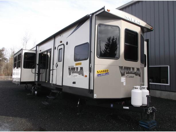 2015 Forest River Salem 393RLT VILLA DESTINATION
