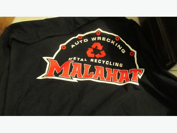 NEW XL MALAHAT AUTOWRECKERS T-SHIRT