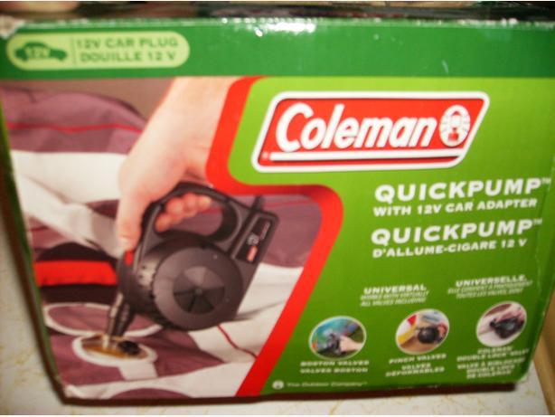 coleman pump