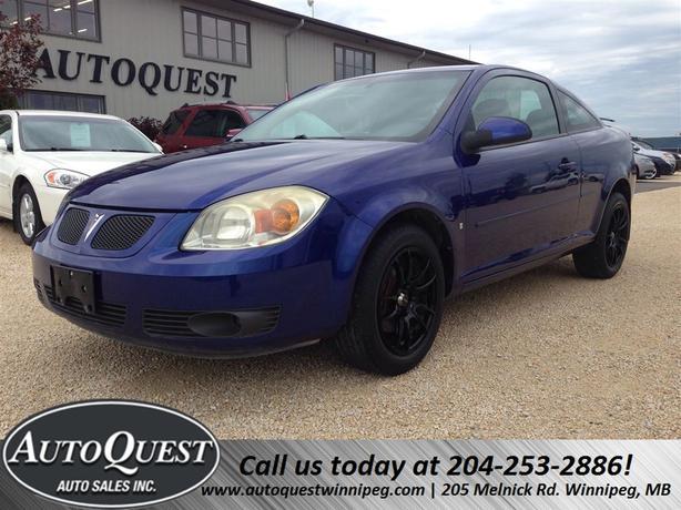 2007 Pontiac G5 Affordable & Economical! FRESH SAFETY!