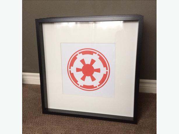 Custom Star Wars Prints w/ Frame