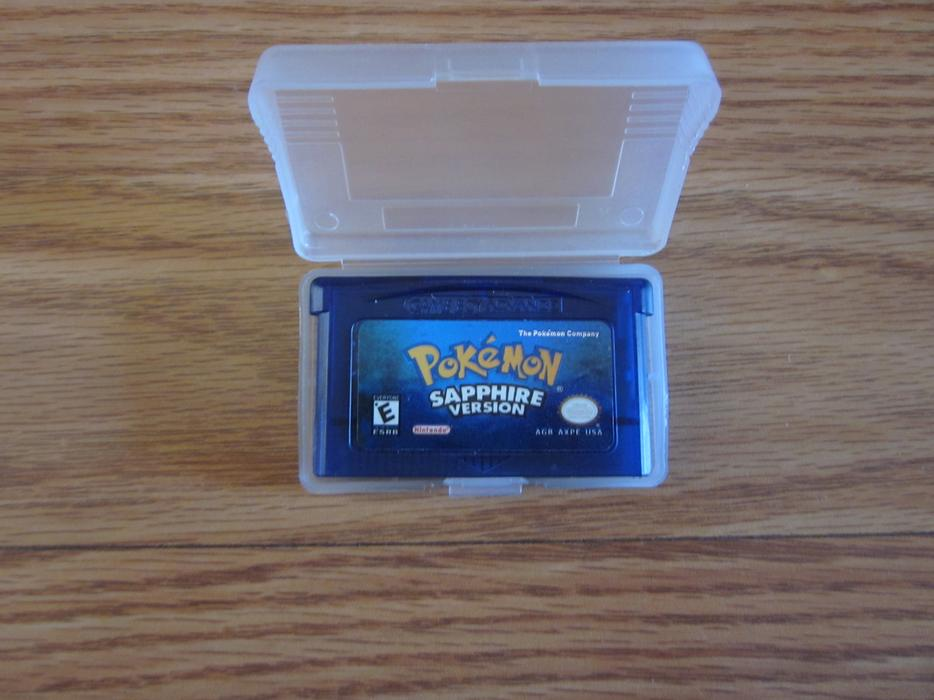 Pokemon Sapphire Game Boy Advance read Parksville, Nanaimo