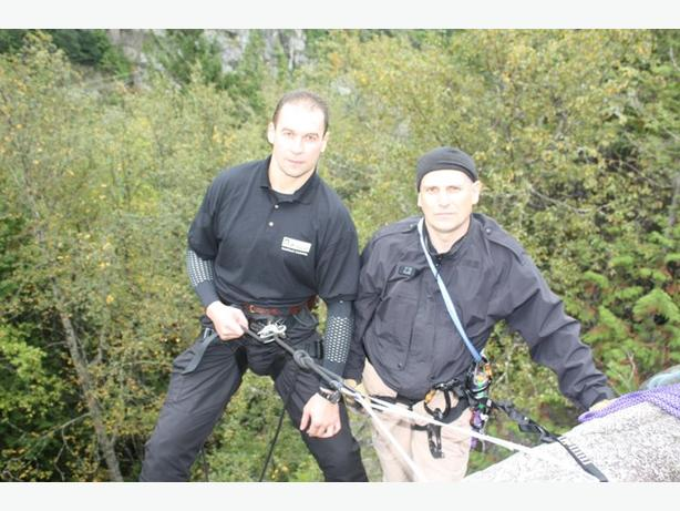 Tactical Rappelling Course in Vancouver BC
