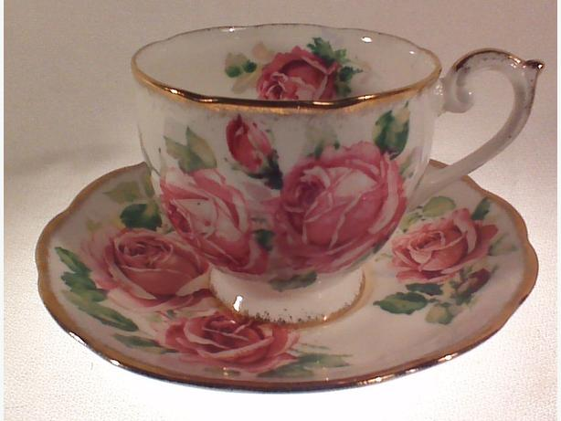 Queen Anne Lady Margaret teacup & saucer