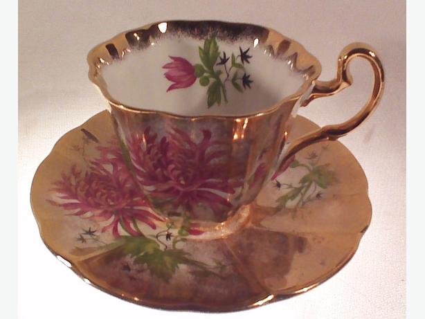 Adderley teacup & saucer