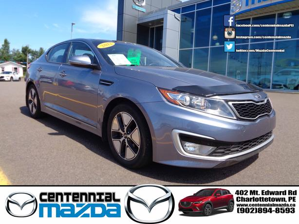 2012 KIA OPTIMA HYBRID 42000 KM FULL LOAD REDUCED TO $14980