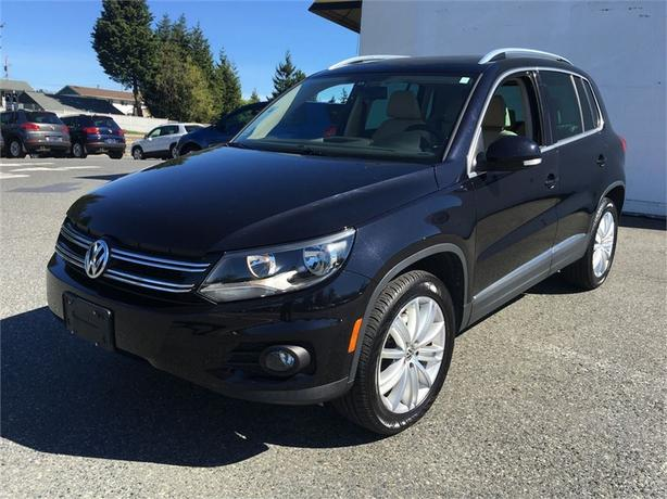 2013 Volkswagen Tiguan 4Motion Highline w/ Tech Pkg.