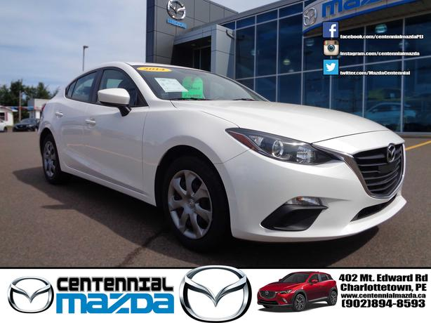 2014 MAZDA 3 GX SEDAN AUTOMATIC WITH A/C REDUCED TO $13390