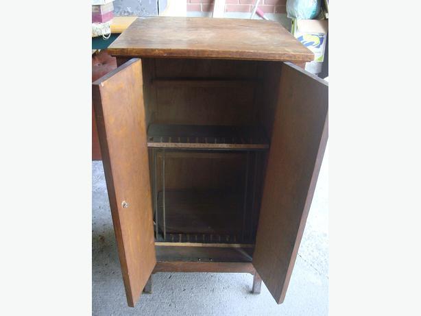 Antique Storage Solid Wood Cabinet! - $35