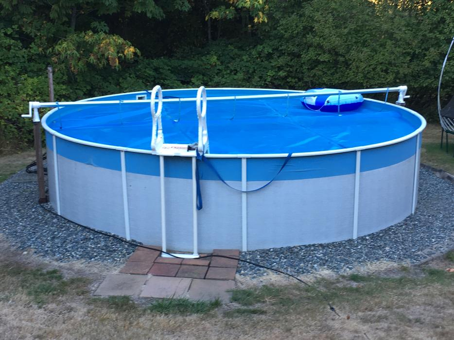 Above Ground Hard Sided Swimming Pool North Saanich