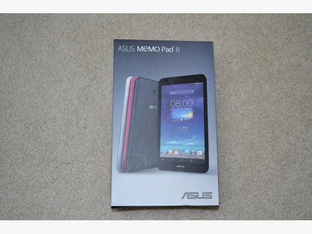 Asus MeMo Pad 8 HD (Me 180a) New still in box, unwanted gift.