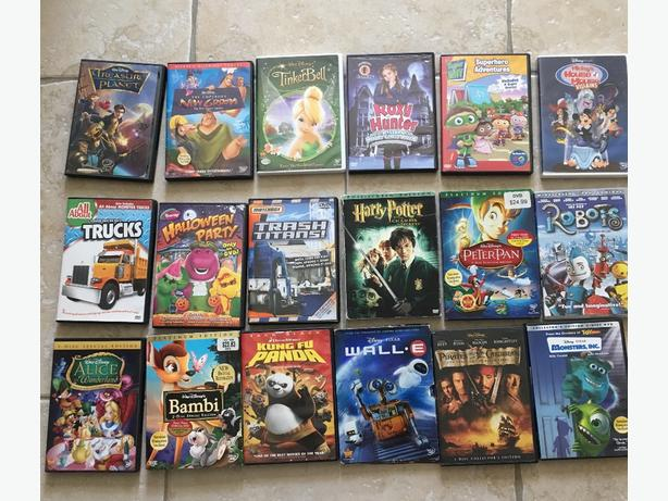 Disney and other DVD collection