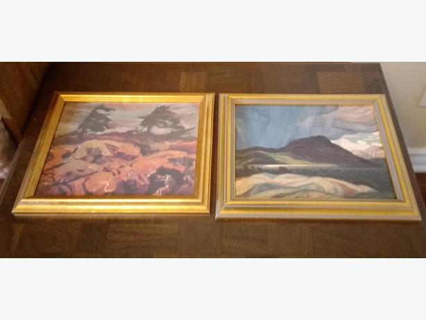 CHOICE OF GROUP OF SEVEN REPRODUCTIONS