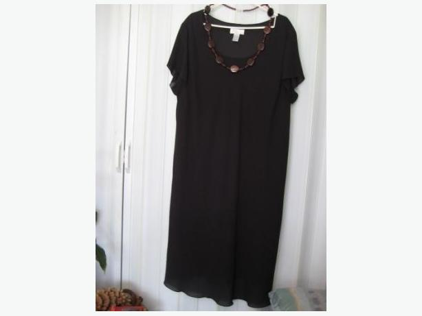 Black Evening Dress - Plus Size