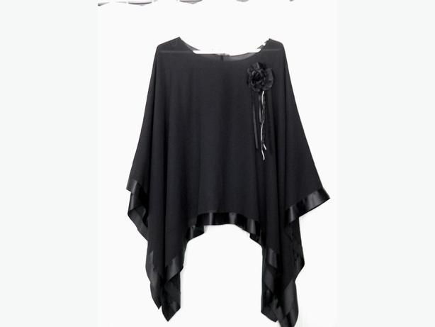 Black Topper/Blouse - One Size