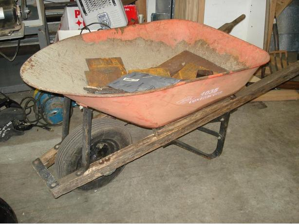 Wheelbarrow, Professional Quality