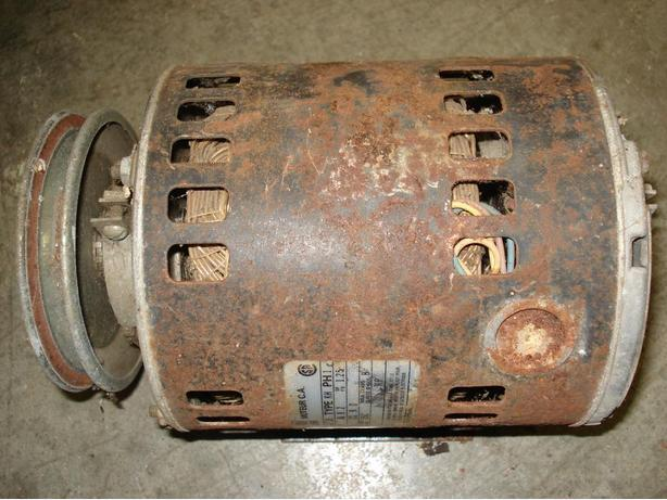 1/2 HP Electric Motor,  GE, made in the USA.    Ex. Cond.
