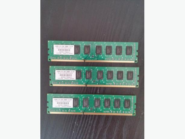 6gb Ram (3 x 2gb) GDDR3 PC1333