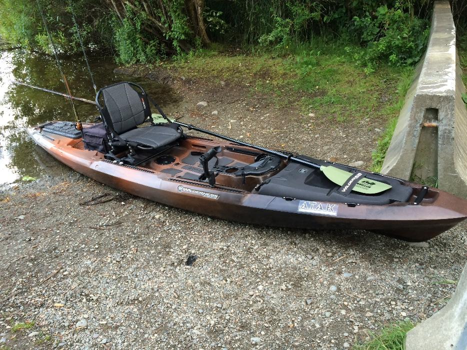 Wilderness systems atak 140 fishing kayak outside nanaimo for Wilderness systems fishing kayaks