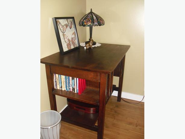 Dark Oak Desk