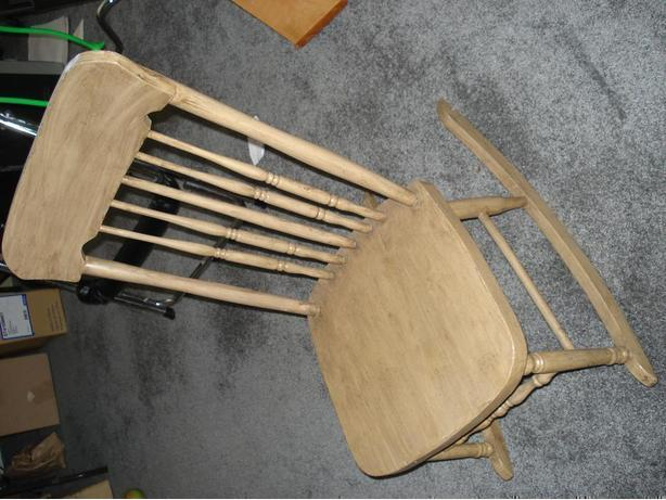 "Antique Rocking Chair ""Nursing"" (no arms)  Brest Feeding"