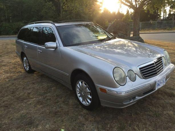 2001 mercedes benz e320 4matic awd wagon 137 859kms for Barrier mercedes benz