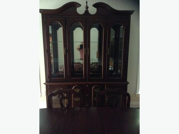 Solid Wood Buffet and Hutch (made in Canada)