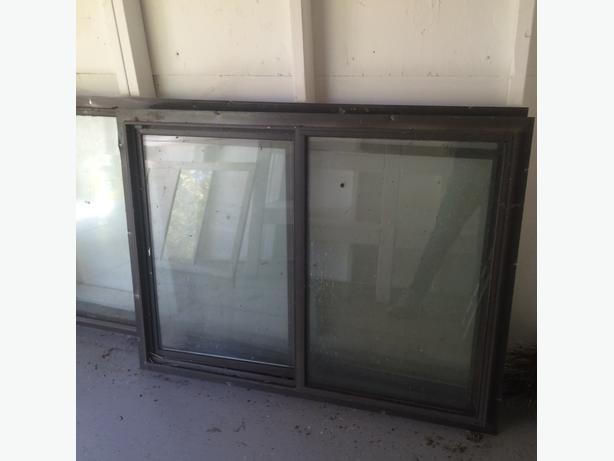 Double Pain Window : Aluminum double pain window duncan cowichan
