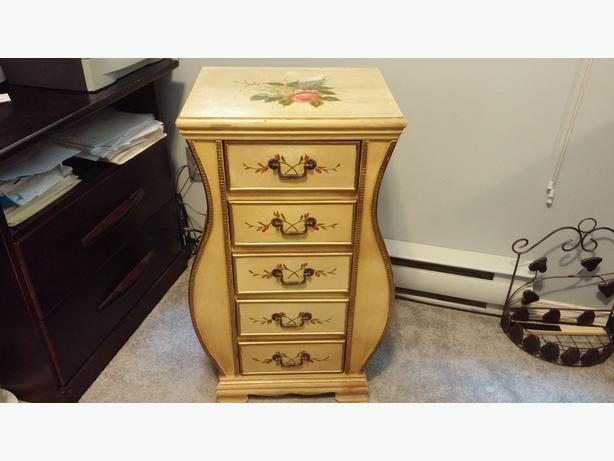 5 Drawer Jewel chest