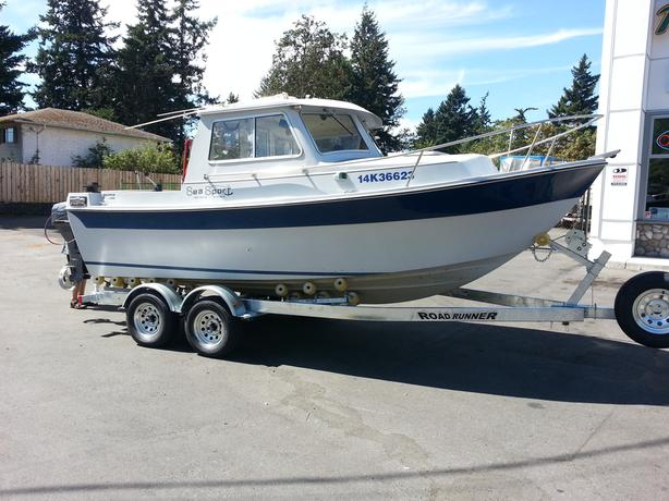 REVISED :  1988 19' Seasport  Skipper