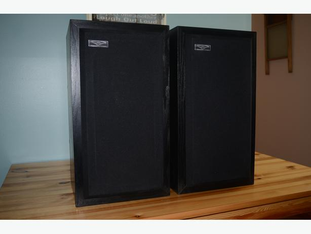 "Cerwin Vega D-1 Series 2 Way 8"" Speakers Wood Cabinet Excel."