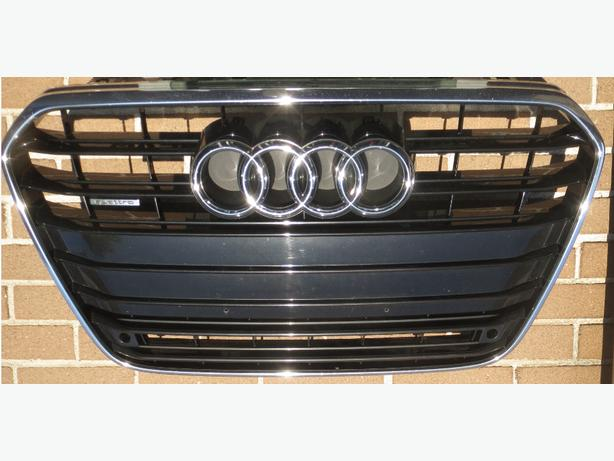 Front Bumper Center Grille Grill Mesh For AUDI A6 C7 QUATTRO