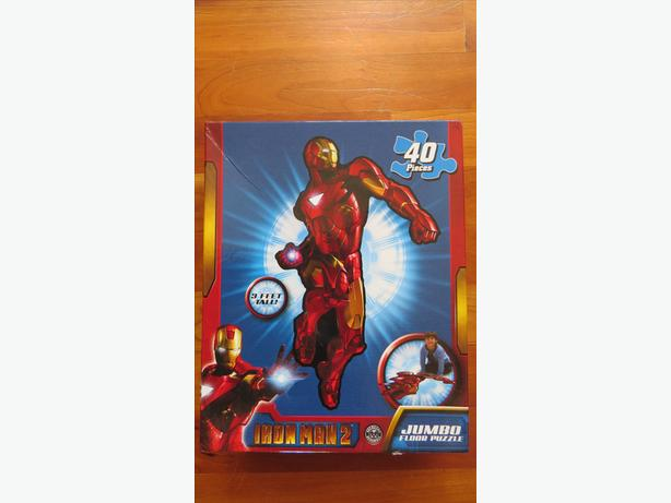 Iron Man Floor Puzzle