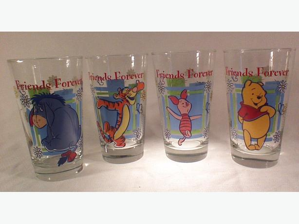 Anchor Hocking Disney Friends Forever glasses