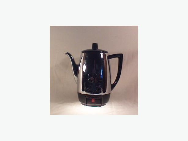Retro Berkeley coffee percolator