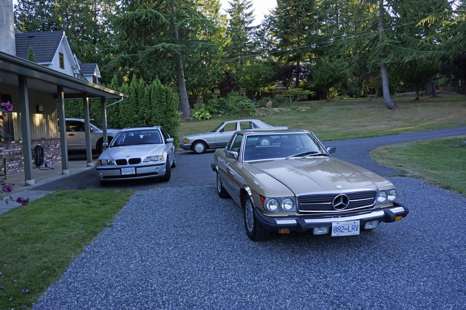 1981 mercedes benz 280sl outside victoria victoria for Mercedes benz bay ridge