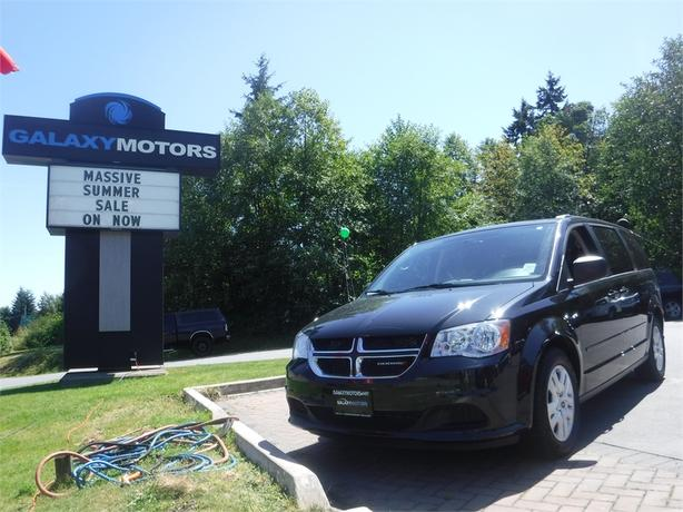 2015 Dodge Grand Caravan SXT - 7 Passenger, Roof Rack, ECON, A/C