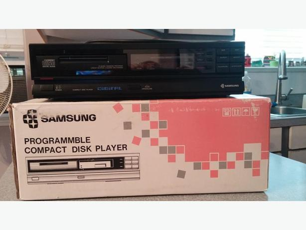 samsung compact disk player