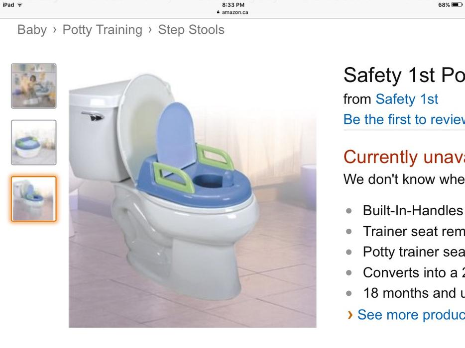 Safety 1st Clean Comfort 3 In 1 Potty Trainer 28 Images