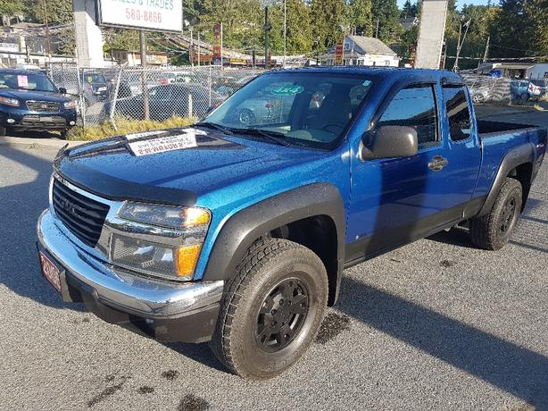 2006 GMC Canyon  4X4 extended cab