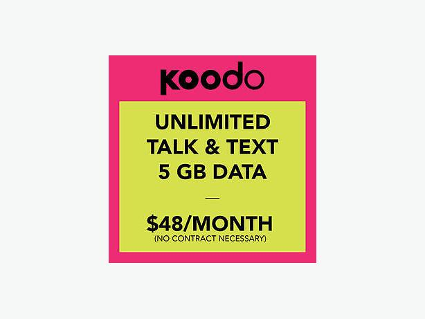 Koodo business plans