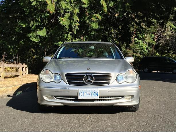 Mercedes benz 2003 c230 kompressor sedan rwd automatic w for 2003 mercedes benz c230 kompressor
